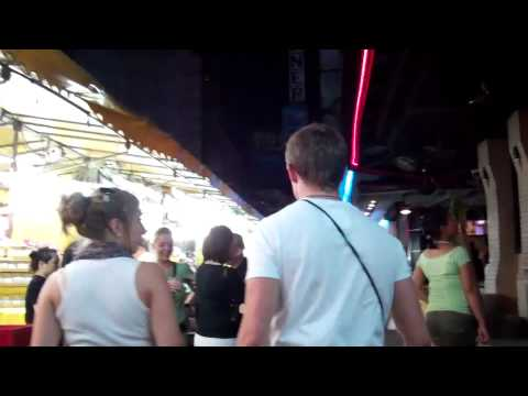 Walk through Patpong Night Market Bangkok