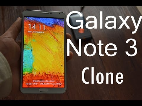 REVIEW: Galaxy Note 3 Clone Phone! 5.7