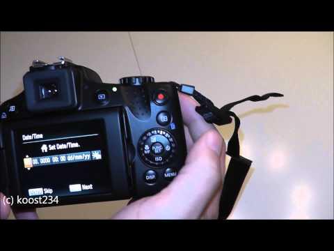 Canon SX50 HS (neu) auspacken/aktivieren unboxing/activating