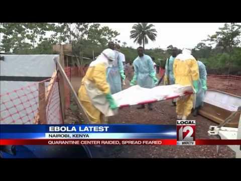 Ebola health workers battle death, heat, rum