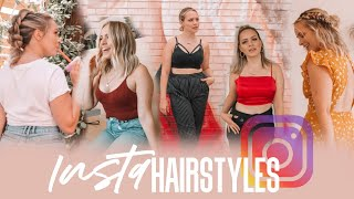 I Tried Instagram Hairstyles for a Week (Short Hair) - Kayley Melissa