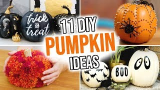 11 DIY Pumpkin Ideas for Halloween - HGTV Handmade