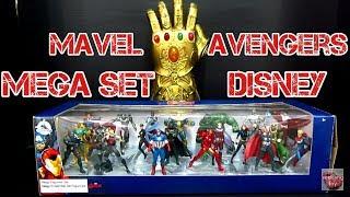รีวิว Marvel Avengers Mega Set Disney uboxes and review