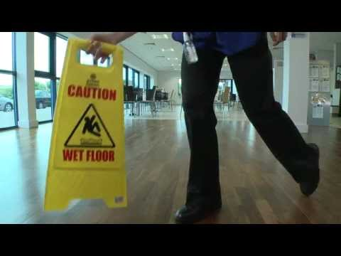 HEALTH & SAFETY TRAINING VIDEO FOR THE CLEANING INDUSTRY