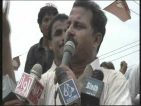 Khipro Sindh Tv News Hathungo Long March Dr Meer Alam Mare Anti Jaffar Khan Kk video