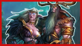 Origin of the Night Elves - World of Warcraft Lore