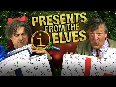 QI | Stephen and Alan Open Their Christmas Presents