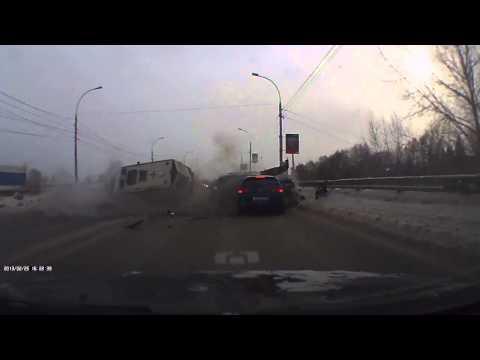 ДТП скорой помощи в Новосибирске