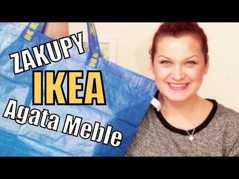 Zakupy z IKEA i Agata Meble