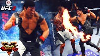 Ryu! Street Fighter Meets UFC! TRASH TALKER RAGED! EA Sports UFC 2 Ultimate Team Gameplay