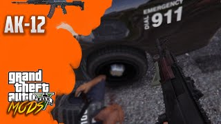 GTA 5 PC MODS - Battlefield 4 AK-12