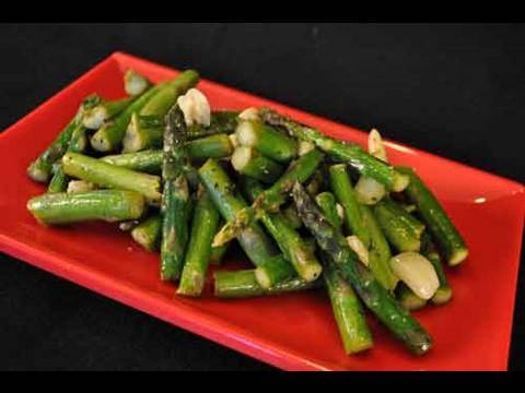 Garlic Asparagus, A Perfect Side Dish