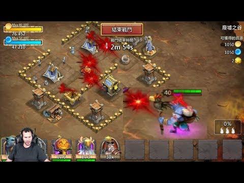 New Hero GAMEPLAY WallaWalla INSANE Auto Proc Castle Clash