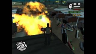 GTA San Andreas Loquendo: CJ y Sus Bombas Nucleares - 1 HD