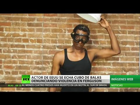'El desafío del cubo de balas': Actor denuncia la violencia policial en EE.UU.