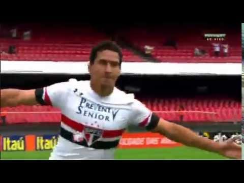 Gol de Paulo Henrique Ganso - Sao Paulo 1 Vs 0 Palmeiras - 4º Rodada - Brasileirao