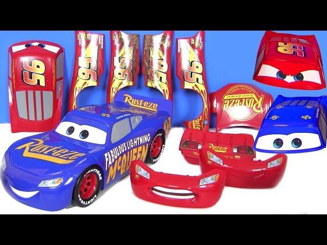 Мультики про машинки #Тачки 3 Мультфильм Cars 3 Молния Трансформер! Видео для детей
