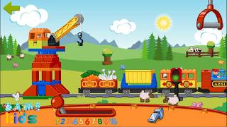 LEGO DUPLO Train | Trò chơi lái xe lửa | Lái tàu hỏa cho các bé