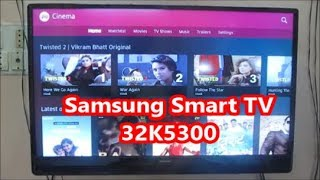 Samsung 32 inch Full HD Smart Led TV 32k5300 Review after use (Hindi).