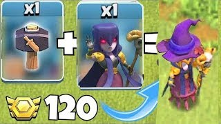 """UPGRAde HaMMeR + WITCh!!""""Clash Of Clans"""" FARm To MAX!!"""