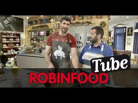 ROBINFOOD / Fideua de rape, langostinos y chipirones