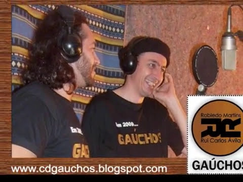 GAÚCHOS - Robledo Martins e Rui Carlos Ávila