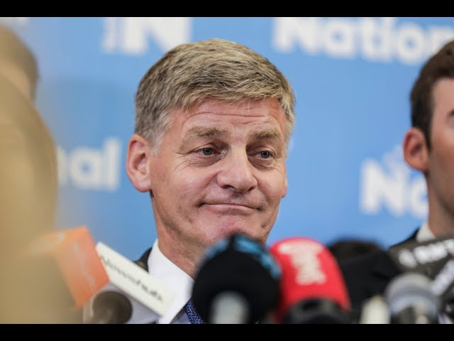 Bill English stands down