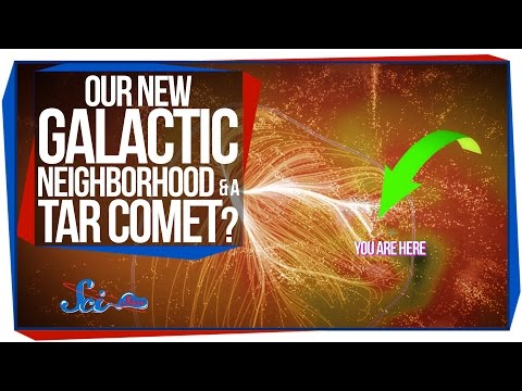 Our New Galactic Neighborhood, and a Tar Comet?