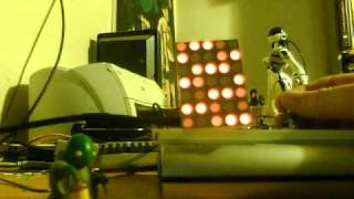 Stroboscopic Blinkenlights 5x7 display using Teensy