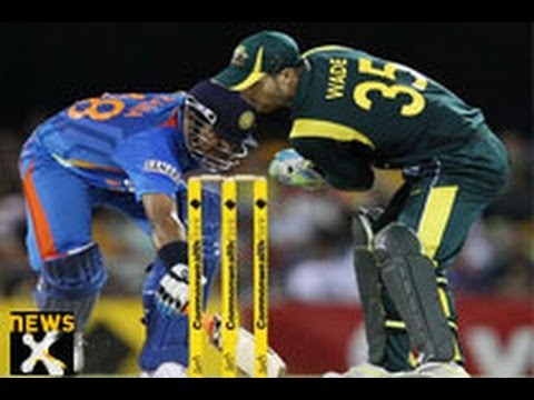 India to take Australia in the one day match today; Dhoni drops his rotation policy in the game
