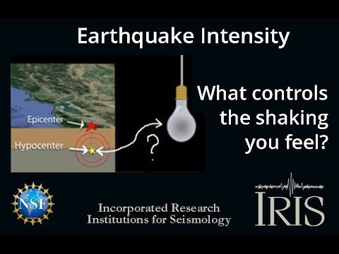 Earthquake Intensity—What controls the shaking you feel?