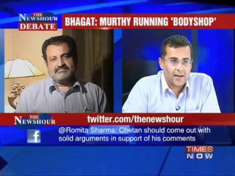 Debate: Bhagat vs Narayan Murthy