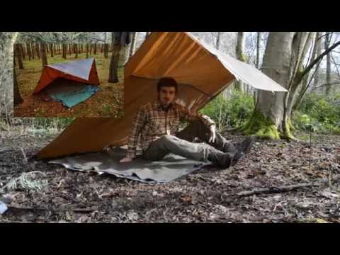 Oilskin Tarp 8x8 Review
