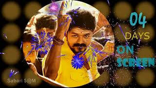 Mersal 4days on screen