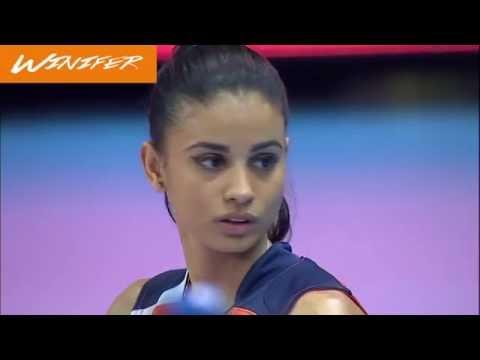 Winifer Fernández es la diosa del voleibol que levanta suspiros mundiales