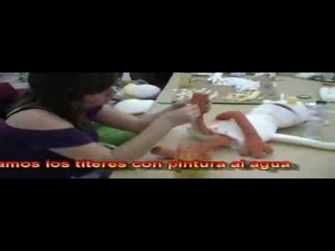 Como hacer un titere en gomaespuma