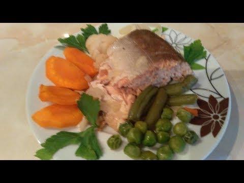 Горбуша запеченная в духовке очень сочная, нежная, вкусная с овощами