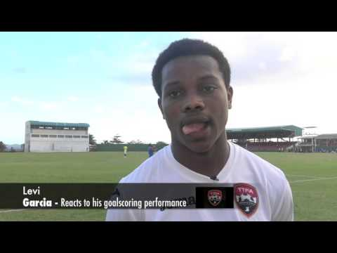 Levi Garcia talks about his Double on Debut for Trinidad and Tobago