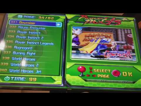 Pandora's Box 4S+ ( 4S Plus ) 815 Games Arcade JAMMA PCB Presentation and Game List