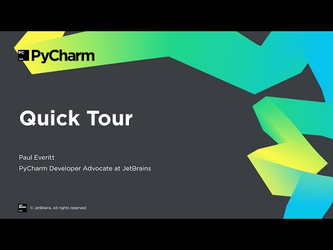 Getting Started with PyCharm: Quick Tour