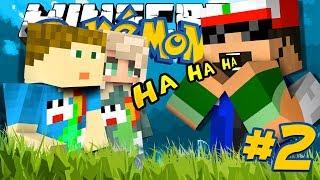 Minecraft: POKEMON!! #2 - CRAINER AND THEA?!
