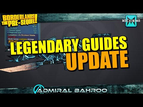 Borderlands the Pre-Sequel: Legendary Weapon Guide Update