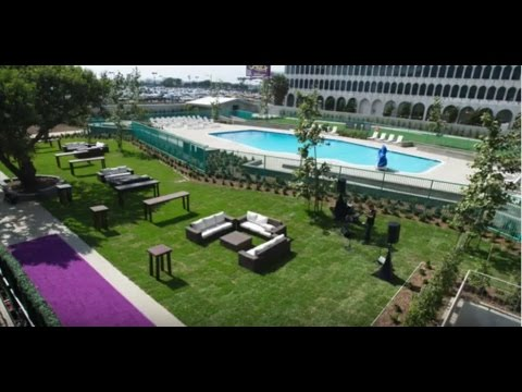 Hyatt Regency LAX New Event Lawns and Pool Have Arrived