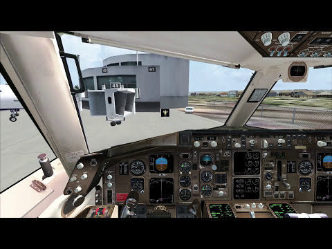 Microsoft Flight Simulator X - Delta 757 to San Diego
