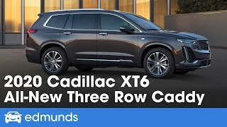 2020 Cadillac XT6 First Look | Caddy's New Three-Row Crossover | Edmunds