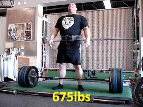 Heavy deadlift training 10-1-11 Image 1
