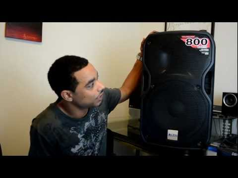 Alto Professional Truesonic TS112A Powered Speaker Review HD-Video