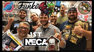 RARE FUNKO POPS AT UNKLE FIGS! 1st NECA Figure. Huge group toy hunt!