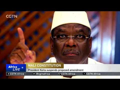 Mali's president suspends proposed amendment to obtain more powers thumbnail