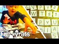 HOW TO TEACH YOUR KIDS THEIR LETTERS! | Day 2046 - TheFunnyrats